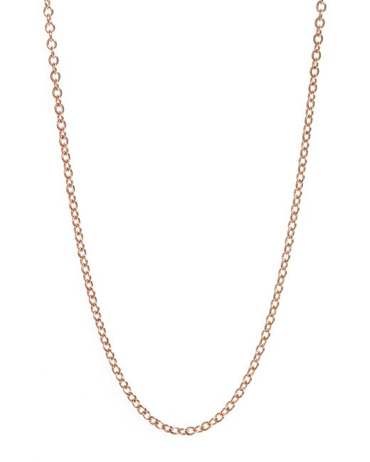 Monica Vinader - Multicolor 32 Inch Adjustable Rolo Chain - Lyst