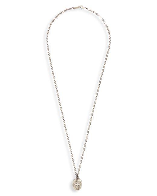 Miansai - Metallic Dove Pendant Necklace for Men - Lyst