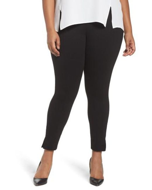 Sejour | Black Seamed Leggings | Lyst