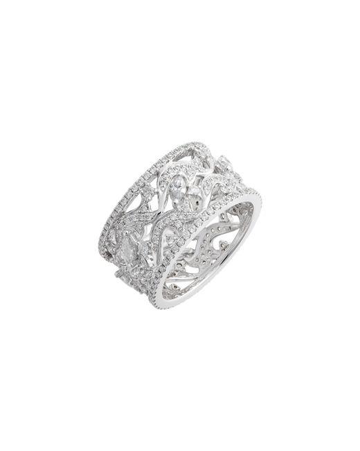 Bony Levy Metallic Luxe Wide Diamond Ring (nordstrom Exclusive)