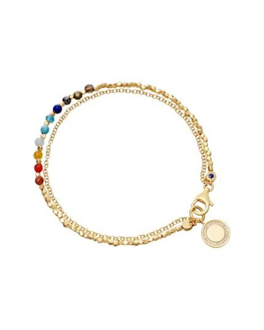 Astley Clarke - Metallic Rainbow Cosmos Biography Bracelet - Lyst