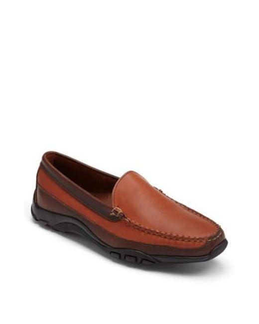 Allen Edmonds - Orange 'boulder' Driving Loafer for Men - Lyst