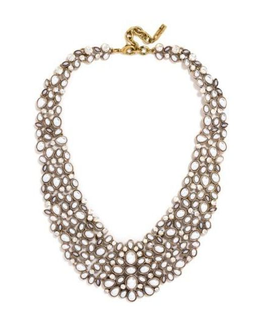 BaubleBar - Metallic 'kew' Crystal Collar Necklace - Lyst