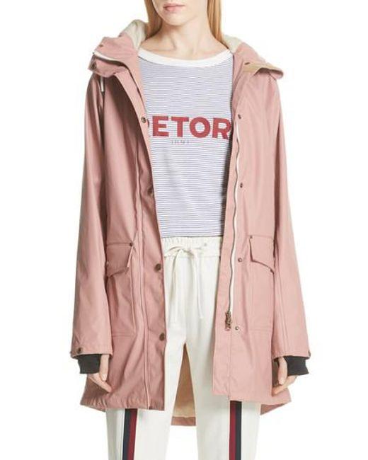 Tretorn - Pink Erna Raincoat - Lyst