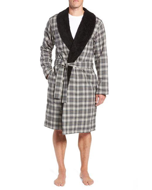 Ugg - Gray Ugg Kalib Robe for Men - Lyst
