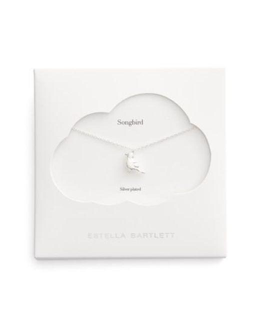 Estella Bartlett   Metallic Robin Songbird Pendant Necklace   Lyst