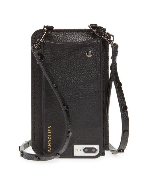 Bandolier - Black Jane Leather Iphone 7/8 & 7/8 Plus Crossbody Case - - Lyst