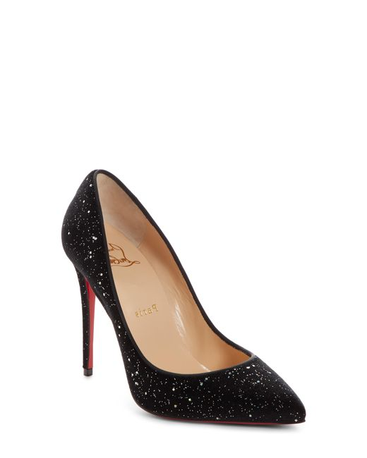 Christian Louboutin - Black Pigalle Follies Pointy Toe Pump - Lyst