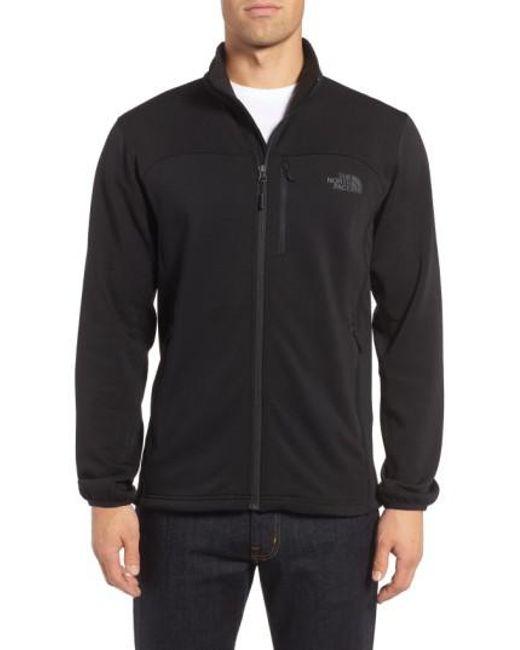 The North Face   Black 'momentum' Fleece Jacket for Men   Lyst