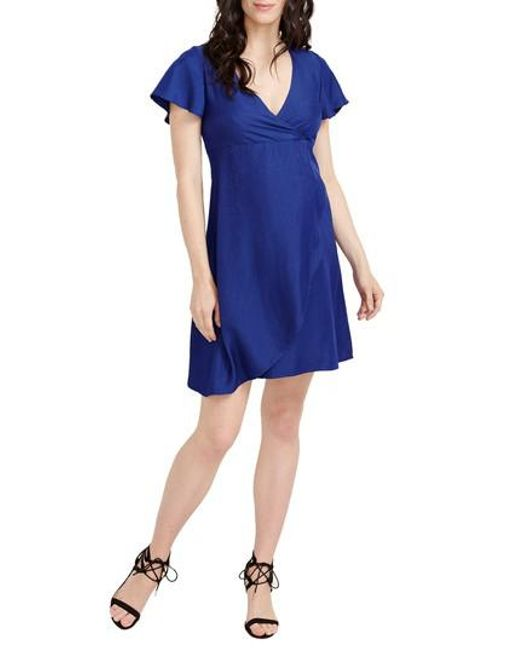 Rosie Pope - Blue Grace Maternity Dress - Lyst