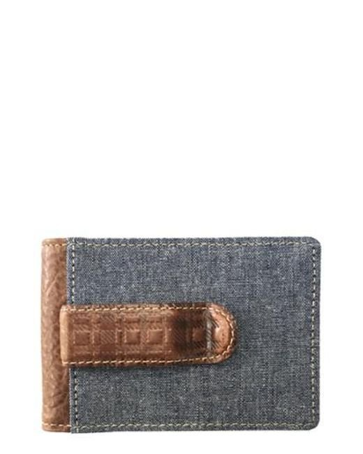 Boconi | Gray Caleb Bifold Wallet With Money Clip for Men | Lyst