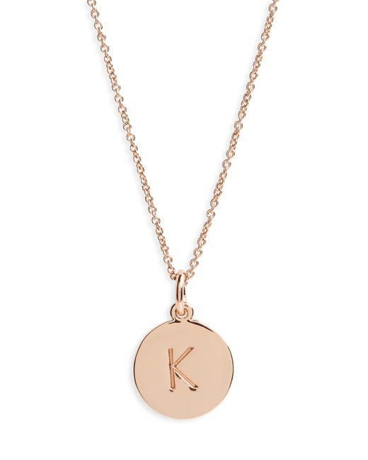 Kate Spade - Metallic One In A Million Pendant Necklace - Lyst