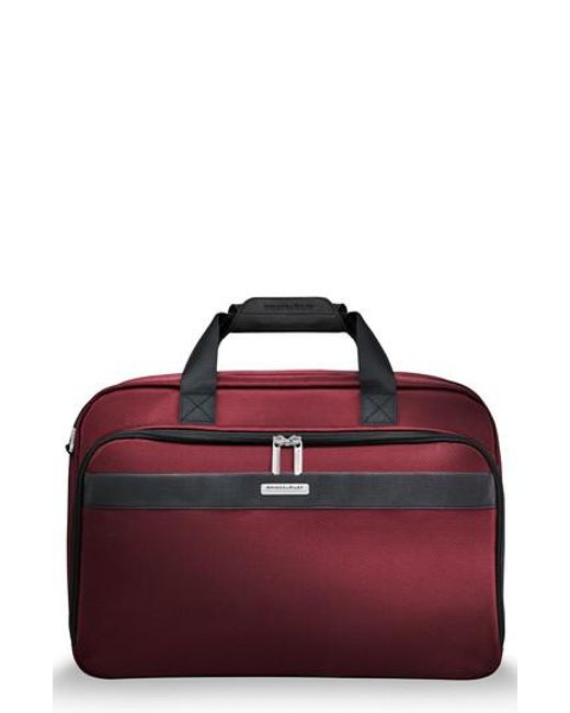 Briggs & Riley - Red Transcend 400 Cabin Bag - Lyst