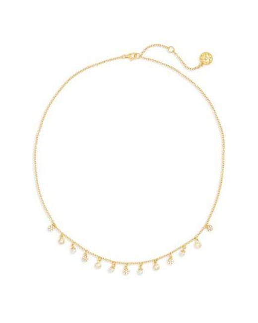 Freida Rothman | Metallic Audrey Frontal Necklace | Lyst