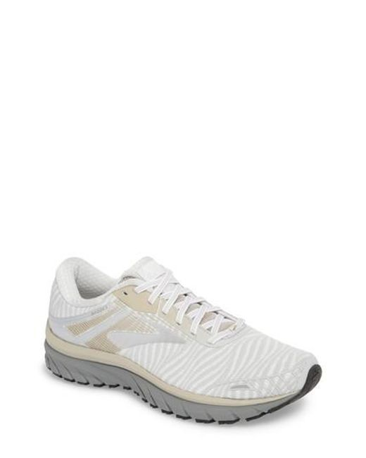 Brooks - Gray Adrenaline Gts 18 Running Shoe for Men - Lyst