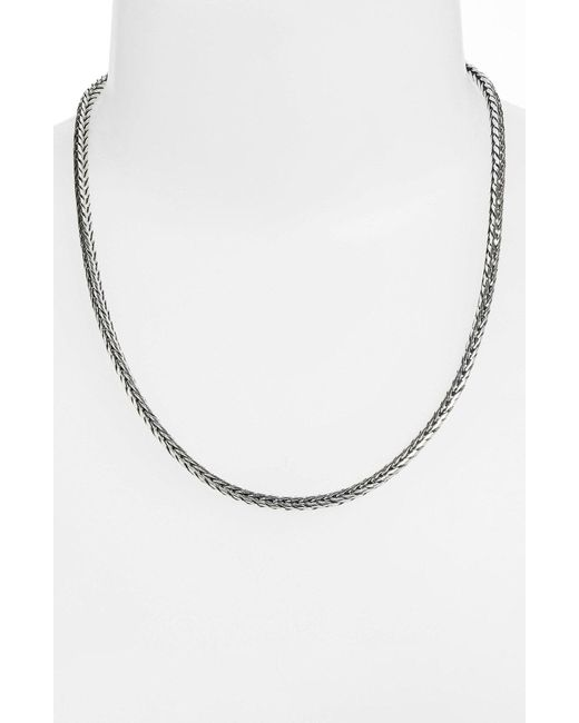 Konstantino - Metallic Sterling Silver Chain - Lyst