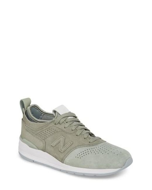 New Balance - Green 997r Perforated Sneaker - Lyst