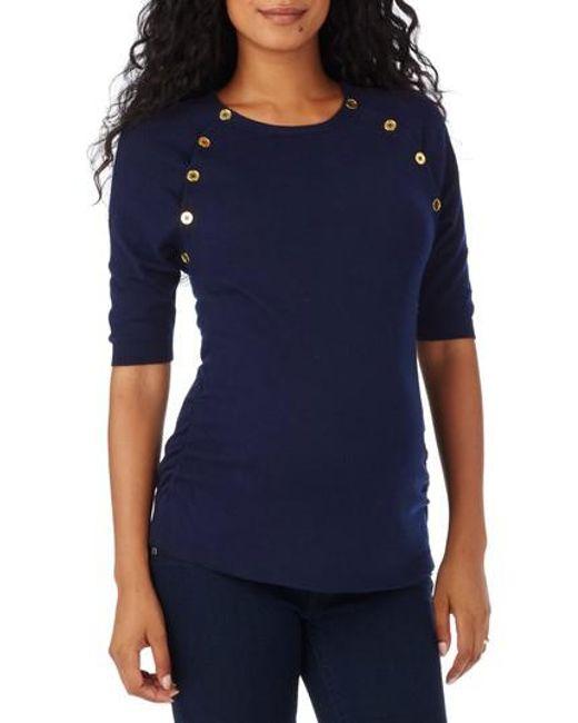 Rosie Pope | Blue 'hepburn' Maternity Sweater | Lyst