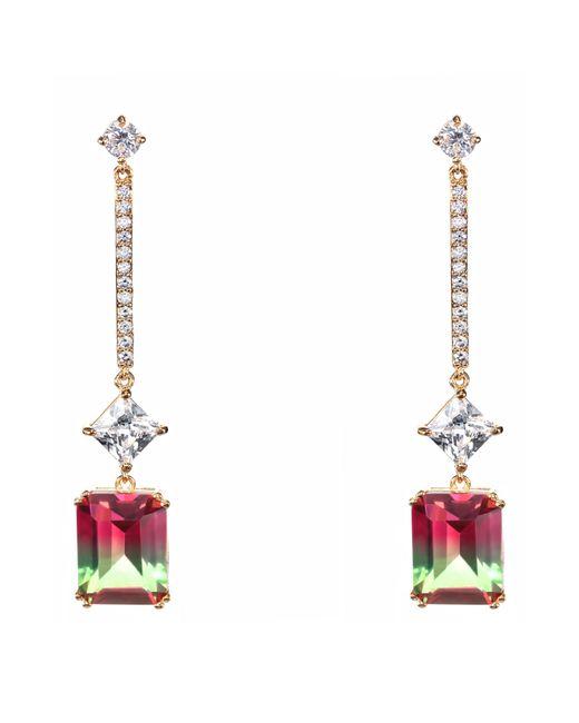 Nina - Multicolor Deco Linear Drop Earrings - Lyst