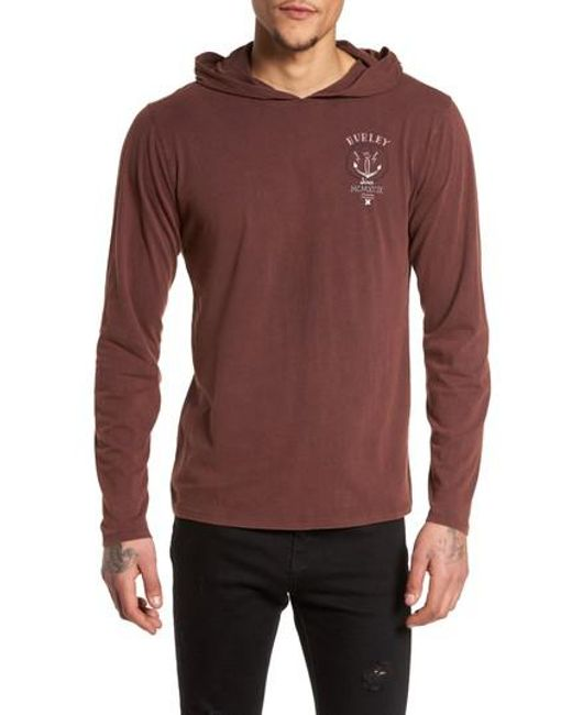 Hurley | Multicolor Destroy Hoodie for Men | Lyst