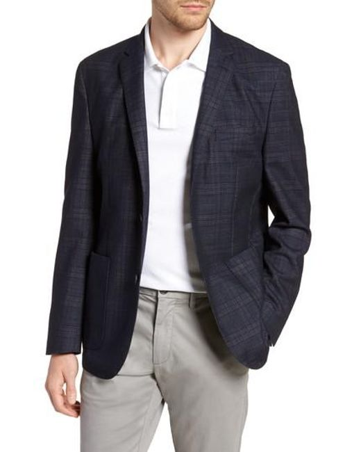 Vince Camuto - Blue Dell Aria Unconstructed Blazer for Men - Lyst