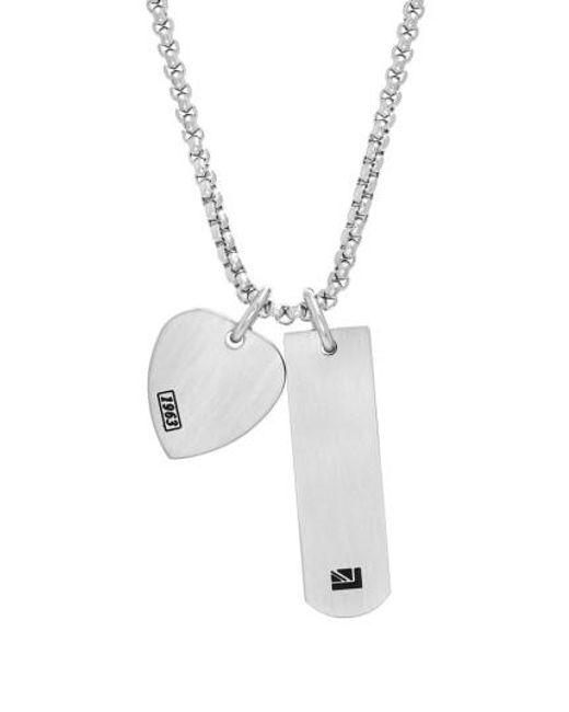 Ben Sherman - Metallic Teardrop Pendant Necklace - Lyst