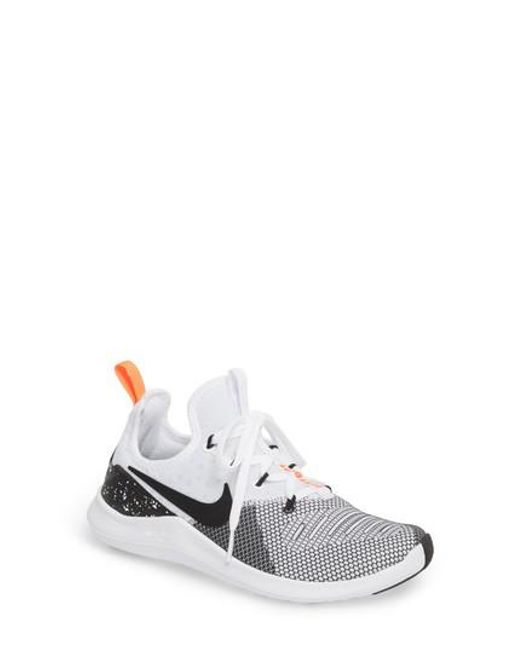 056f7e1519f4 NEW WOMENS NIKE FREE TR 8 CROSS TRAINING SHOES TRAINERS WHITE   BLACK