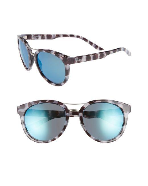 56193f5177 Smith - Bridgetown 54mm Chromapop(tm) Polarized Sunglasses - Chocolate  Tortoise  Blue -