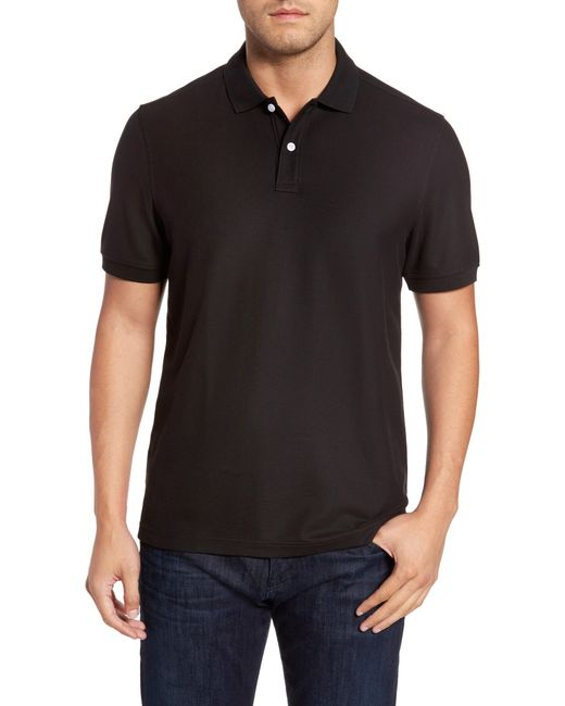 Nordstrom - Black Pique Polo for Men - Lyst