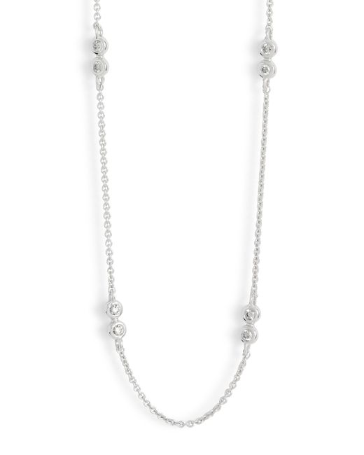 Dana Rebecca - Metallic Lulu Jack Diamond Station Necklace - Lyst