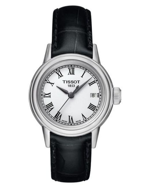 Tissot - Metallic Carson Leather Strap Watch - Lyst