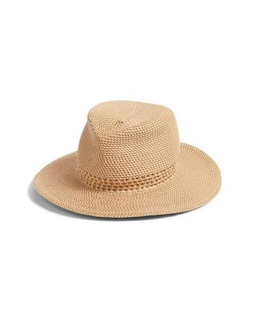Eric Javits - Natural Bayou Packable Squishee Fedora - Lyst