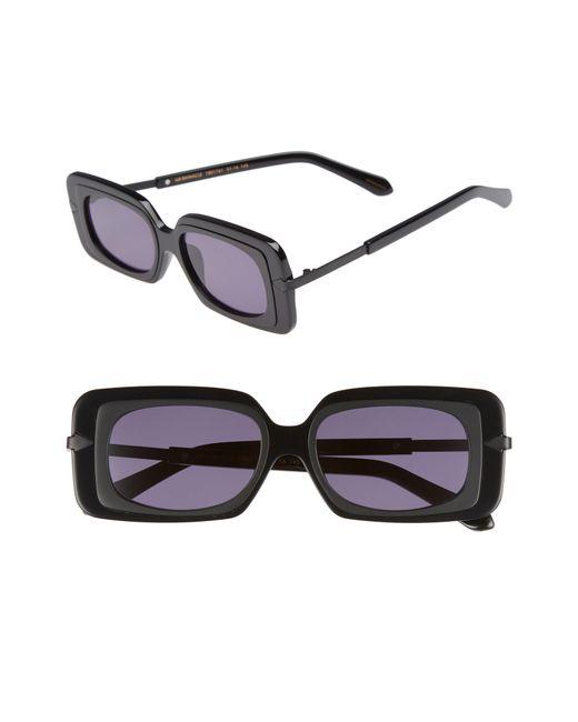 Karen Walker - Black Mr. Binnacle 51mm Sunglasses - Lyst