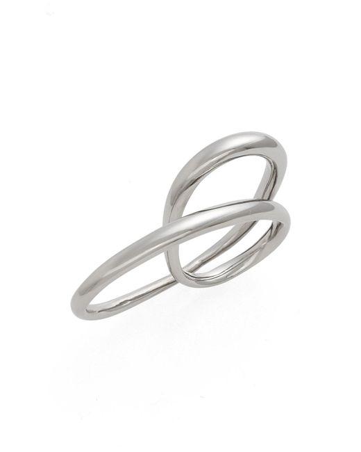 Charlotte Chesnais - Metallic 'heart' Ring - Lyst