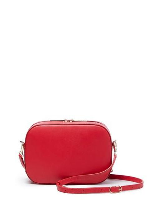 POP AND SUKI - Red Bigger Leather Camera Bag - Lyst