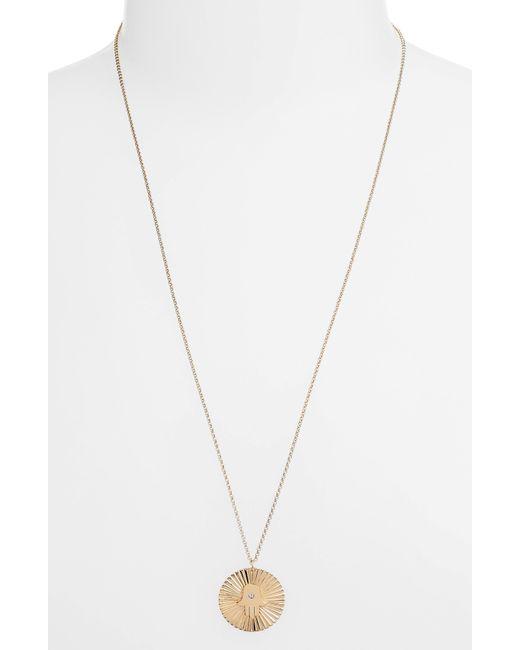 Jennifer Zeuner - Metallic Iris Faith Diamond Pendant Necklace - Lyst
