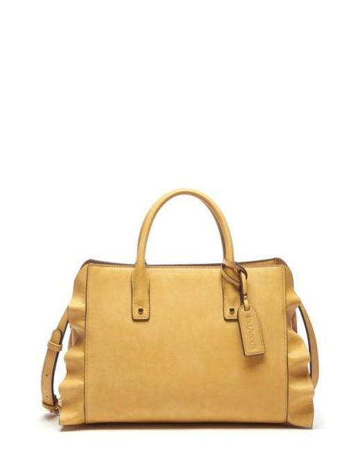 Sole Society - Multicolor Faux Leather Satchel - Lyst