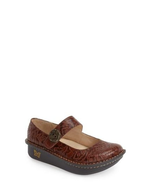 Alegria | Brown 'paloma' Slip-on | Lyst