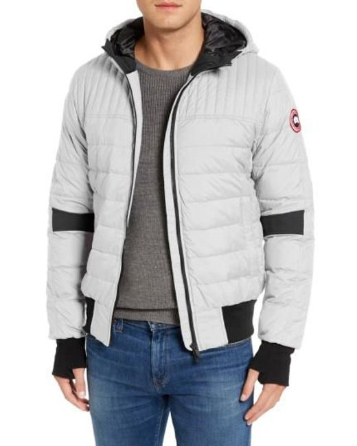 Canada Goose Black Cabri Hooded Down Jacket for Men Lyst ...