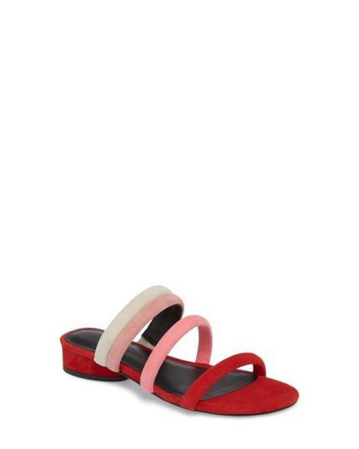 Rebecca Minkoff - Multicolor Kade Strappy Slide Sandal - Lyst