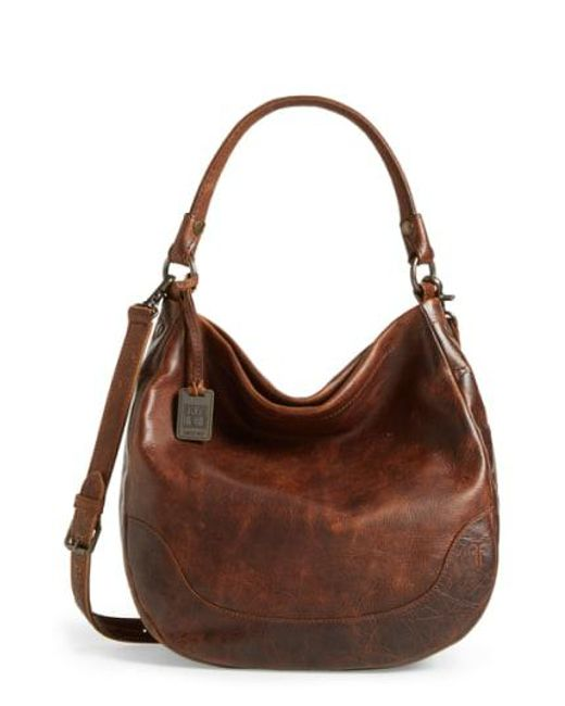 Frye - Brown Melissa Leather Hobo - - Lyst