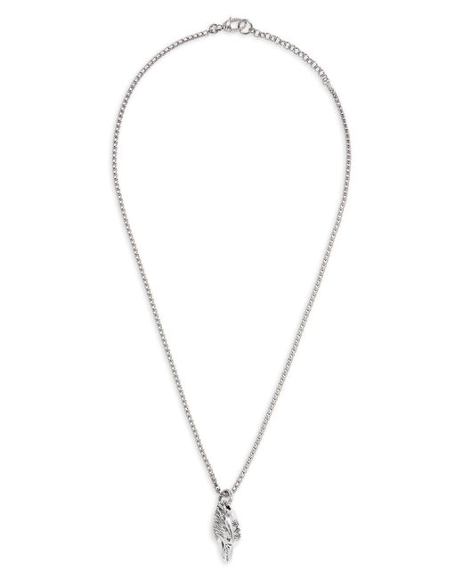 Gucci - Metallic Eagle Head Sterling Silver Necklace for Men - Lyst