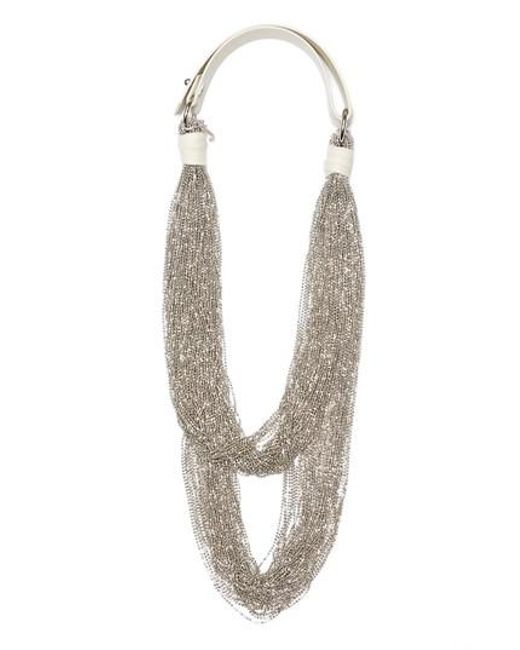 Fabiana Filippi | Metallic Tiered Multstrand Necklace | Lyst