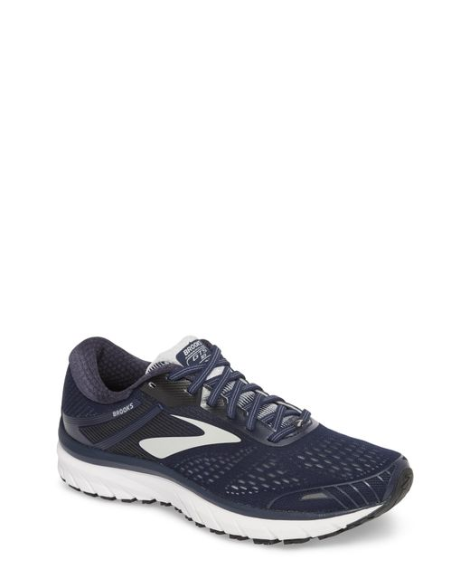 Brooks - Gray Adrenaline Gts 18 Running Shoe for Men - Lyst