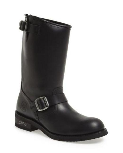 Sendra | Black 'engineer' Boot for Men | Lyst