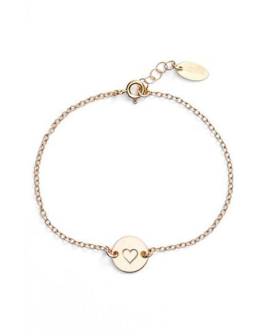 Nashelle | Metallic Mini Coin Bracelet | Lyst