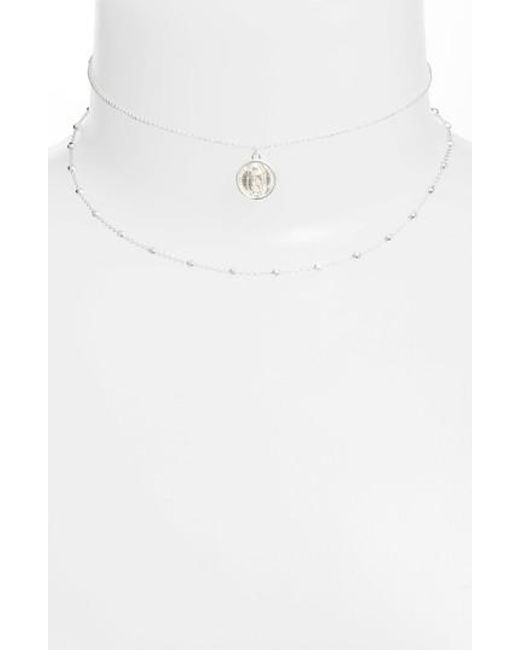 Argento Vivo - Metallic Guadalupe Multistrand Necklace - Lyst