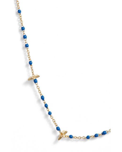 Argento Vivo - Metallic Beaded Enamel Star Necklace - Lyst
