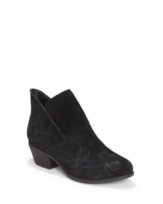 Me Too | Black Zena Ankle Boot | Lyst
