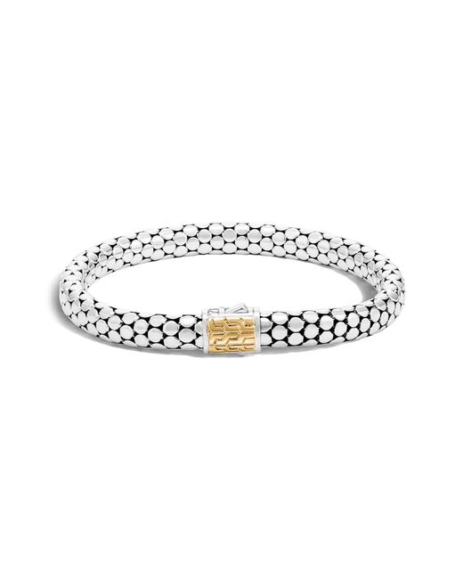 John Hardy - Metallic Dot Large Bracelet - Lyst